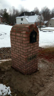 Cleveland Ohio Brick Mailboxes And Stone Mailboxes